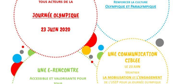 E-rencontre Journée Olympique – mardi 23 juin 2020